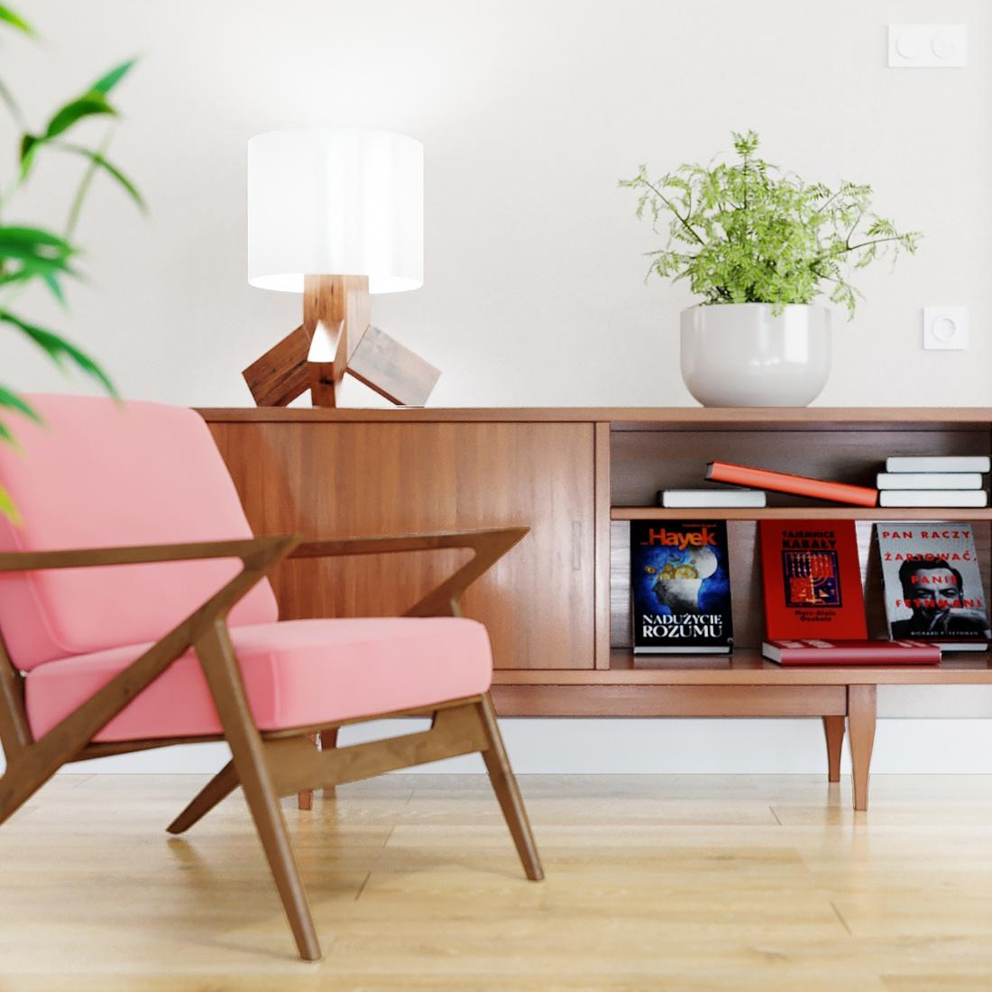Fotel prl wizualizacja