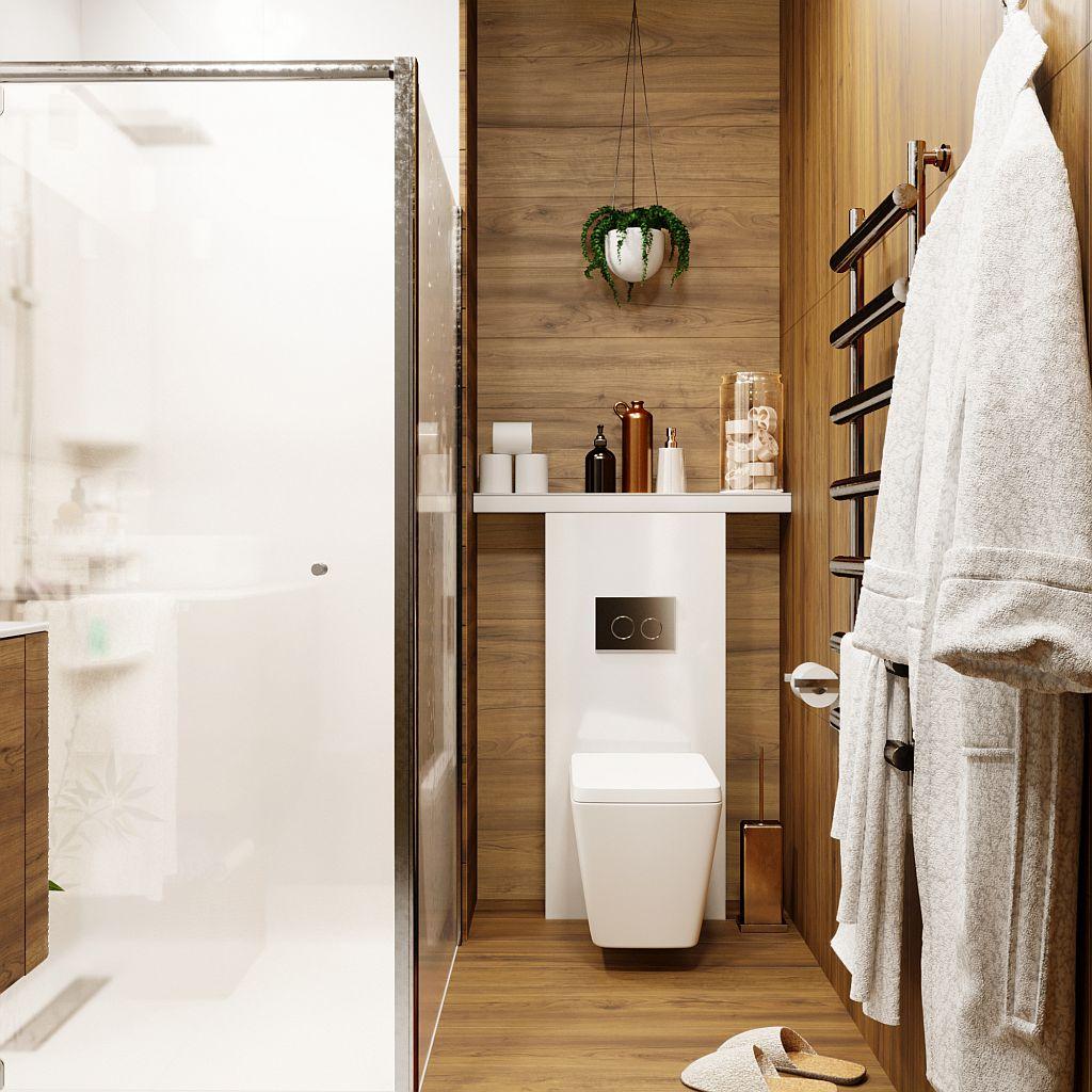wizualizacja łazienki w Krotoszynie