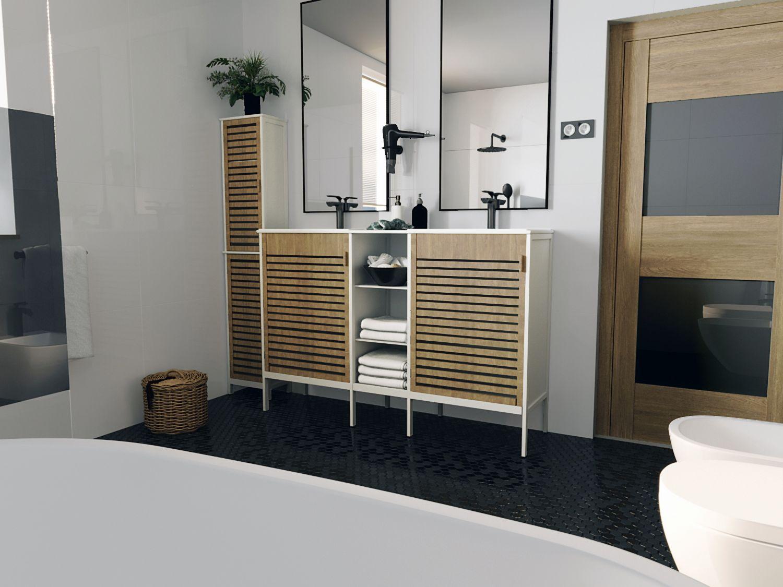 wizualizacja łazienki ostrów wlkp