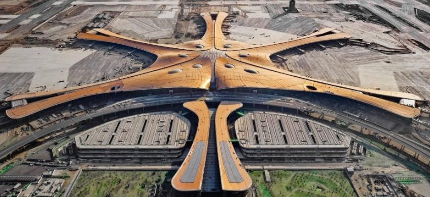 Największe lotnisko w Chinach