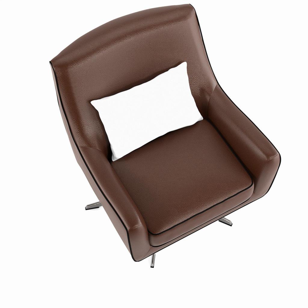 wizualizacja mebli tapicerowanych foteli