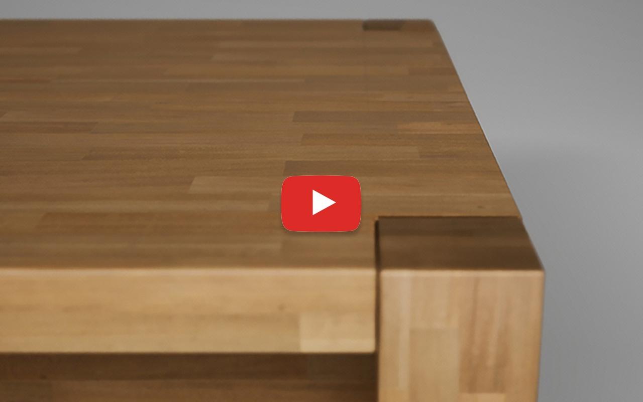 Stół - wizualizacja mebli drewnianych